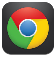 Chrome on iOS icon
